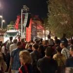 <b>La foule des grands soirs pour la fonte des 3 cloches de la Daurade ! @Toulouse @VisitezToulousepic....</b>