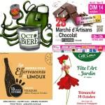 <b>Au menu ce week-end : de la bière #Octobière , du #chocolat place St-Georges, des #vins de Limoux au...</b>