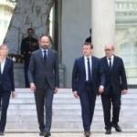 <b>Emmanuel Macron au chevet des sinistrés de l'Aude</b>