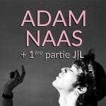 <b>Adam Naas en concert au Connexion Live ce mercredi !</b>