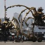 <b>Le Minotaure de La Machine dans les rues de Toulouse en novembre</b>