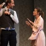 <b>Barbara Schulz et Arié Elmaleh  dans la Perruche à Odyssud</b>