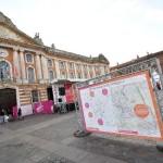 <b>Le village du Marathon s'installe place du Capitole ce week-end !</b>