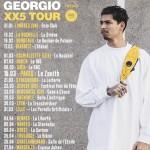 <b>Georgio en concert le 25 avril 2019 à Toulouse</b>