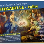 <b>Concert 5 Solistes, Grand-Chœur de 40 choristes et Grand-Orgue</b>