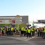 <b>Gilets jaunes : retour en images sur les blocage dans la Manche ce lundi</b>