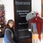 <b>Place aux créateurs et artistes de Normandie dans la boutique Itinérance qui vient d&#039;ouvrir à C...</b>
