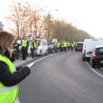 <b>Gilets jaunes : à Meaux, plus de 500 voitures participent aux blocages de samedi 17 novembre</b>