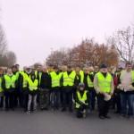 <b>A la rencontre des «gilets jaunes» de la Chartre-sur-le-Loir</b>