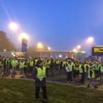<b>Gironde : à Langon, les gilets jaunes mobilisés au péage de l&#039;A62, lundi 19 novembre</b>