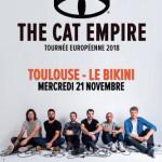 <b>Concours : Gagnez vos invitations pour The Cat Empire au Bikini !</b>
