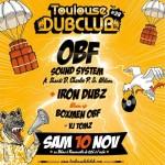 <b>Le Toulouse Dub Club de retour un 28e volet ce soir !</b>