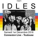 <b>Idles en live ce samedi au Connexion Live !</b>