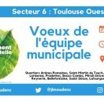 <b>Dernière cérémonie de #voeux2019 ce soir auprès des habitants du secteur #Toulouse Ouest. Rendez-vou...</b>