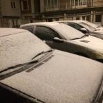 <b>La neige tombe sur le pays d&#039;Auge, le Calvados en vigilance jaune</b>