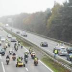 <b>Plus de 6000 Gilets jaunes à Toulouse pour l'acte IX, l'A62 perturbée par des barrages ce lundi</b>