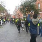<b>Une centaine de Gilets jaunes célèbrent le Nouvel An</b>