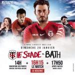 <b>Champions Cup : Face à Bath, le Stade toulousain cherche un billet pour les quarts</b>