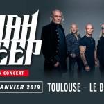 <b>Le groupe Uriah Heep en concert au Bikini ce mardi !</b>
