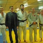 <b>Judo-Club de la Champagne Conlinoise. Remise de 2 ceintures noires 3 dan: une première!</b>
