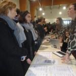 <b>Record d&#039;affluence au forum de l&#039;orientation et des formations supérieures, à Mortagne-au-...</b>