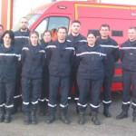 <b>Neuf nouvelles recrues chez les pompiers de Gacé</b>