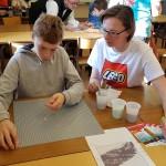 <b>A Arbois, l&#039;école Saint-Just prépare une mosaïque géante de Pasteur en Lego</b>