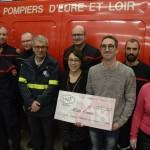 <b>Nogent-le-Rotrou: L'opération «Galettes des rois» rapporte 1000€ au profit des jeunes sapeurs-p...</b>