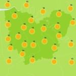 <b>Soleil et températures en hausse vendredi à Pont-Audemer</b>