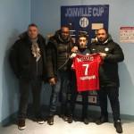 <b>En Avant de Guingamp : Wisslem Boussaid, jeune recrue de 12 ans !</b>