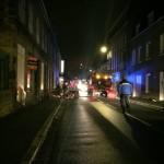 <b>Incendie à Vire Normandie : une rue coupée à la circulation</b>
