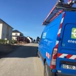 <b>Fuite de gaz à Blonville-sur-Mer : 101 foyers privés de gaz et 60 d&#039;électricité</b>