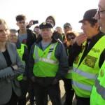 <b>Dialogue de sourd à Poligny entre la secrétaire d&#039;Etat et les Gilets jaunes en colère</b>