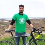 <b>Finistère. Malo Camus va faire Quimper-Glasgow à vélo pour la bonne cause !</b>