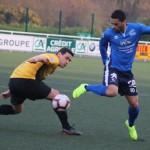 <b>PHOTOS. Football : précieuse victoire du Lannion FC contre le Stade Pontivy (2-1)</b>