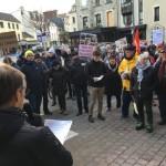 <b>Cherbourg : un rassemblement pour dénoncer les violences policières</b>