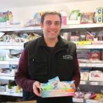 <b>Manche : à Coutances, la boutique Les Petits Jouets propose un grand choix de jeux et jouets à petit...</b>