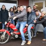 <b>Manche : six jeunes de 16 à 21 ans et leurs éducateurs se lancent dans un tour du Cotentin en mobyle...</b>