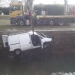 <b>Un véhicule utilitaire repêché dans le canal du Midi à Castanet-Tolosan</b>