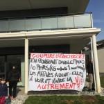 <b>Mobilisation après une coupure d'électricité dans un squat de Caen</b>