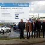 <b>La première aire de covoiturage officielle de Caen la mer se situe à Ifs</b>