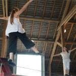 <b>Stade de cirque aux Haras d&#039;Aurillac pendant les vacances scolaires</b>