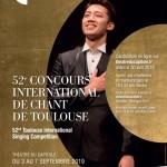 <b>Ouverture des candidatures pour le Concours International de Chante de Toulouse</b>