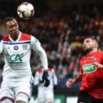<b>Coupe de France : Guingamp s&#039;écrase face à Lyon, qui s&#039;offre les quarts de finale</b>