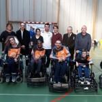 <b>A Gaillon dans l&#039;Eure, honneur au président-entraîneur de l&#039;association de foot fauteuil</b>