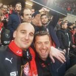 <b>Arsenal-Rennes : ils font partie des 6 000 supporters du Stade Rennais qui font le déplacement à Lon...</b>
