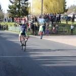 <b>Cyclisme : Thibault Valognes s'impose en solo au Maillot des jeunes à Montfort-sur-Risle</b>