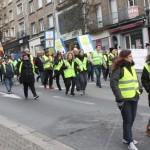 <b>Gilets jaunes. Une centaine de personnes dans les rues de Flers, samedi 9 mars 2019</b>