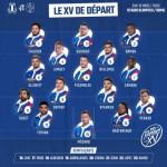 <b>XV de France : Six changements face à l'Italie</b>