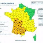 <b>Météo : Toulouse et tous les départements alentours en alerte orange, orages et grêle annoncés</b>